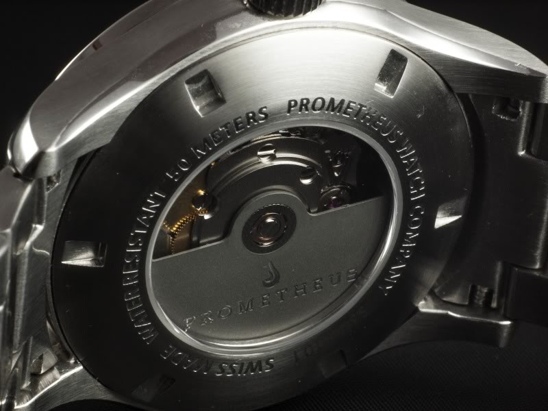 Prometheus Signatura Automatic Watch With Custom Made Rotor