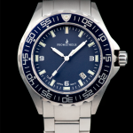 Prometheus Watch Company Jellyfish Diver Automatic Mens Diver Watch Blue Dial