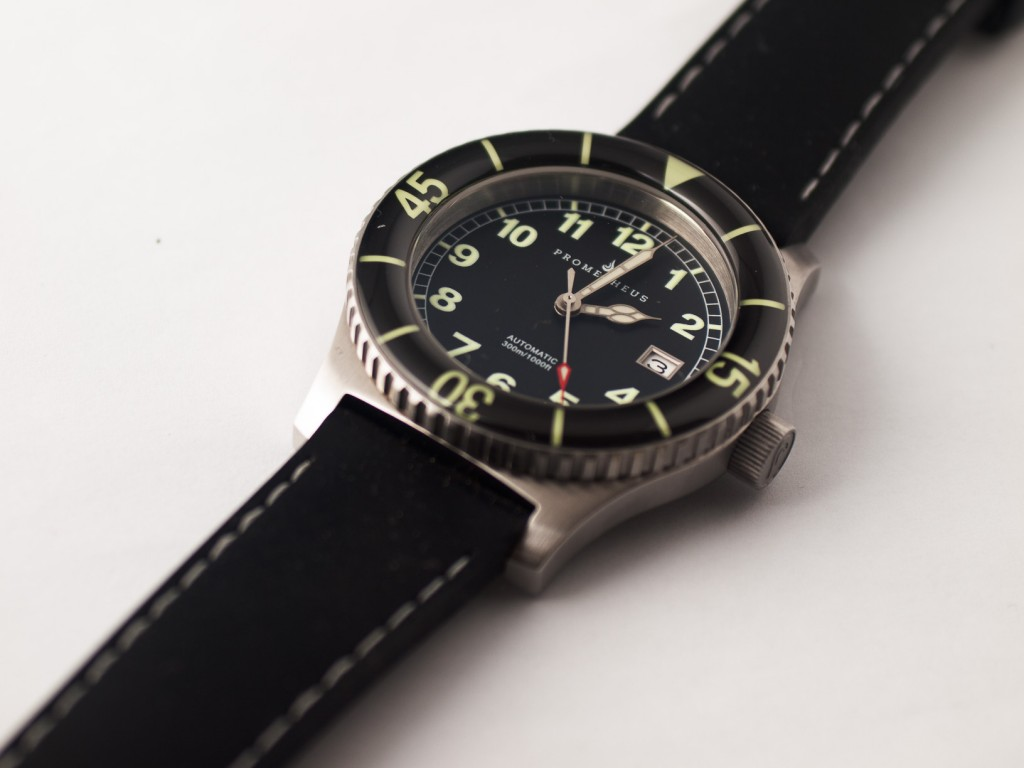 Prometheus Sailfish Prototype Black Dial