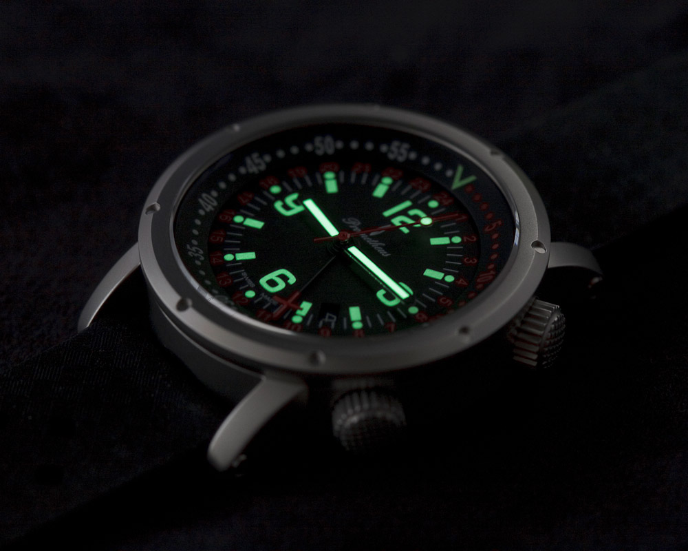 Prometheus Watch Company Ocean Diver GMT