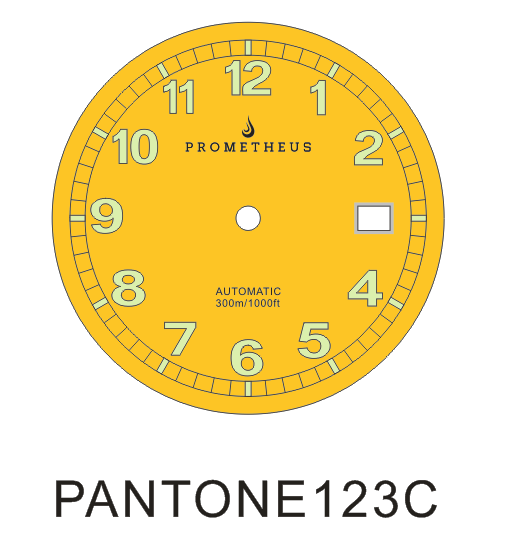 Prometheus Sailfish Yellow Dial