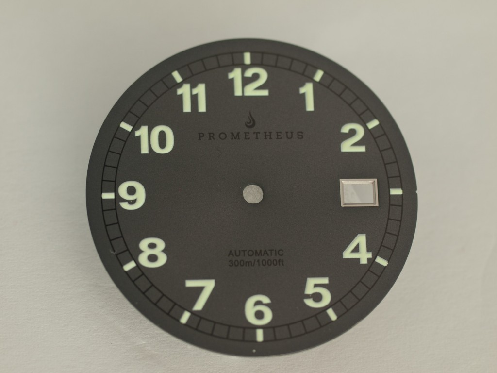 Prometheus Sailfish Prototype Grey Dial