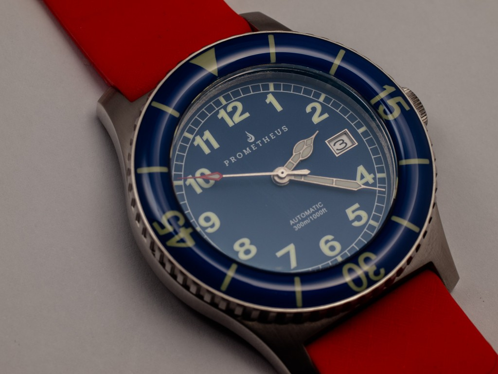Prometheus Sailfish Prototype Blue Dial