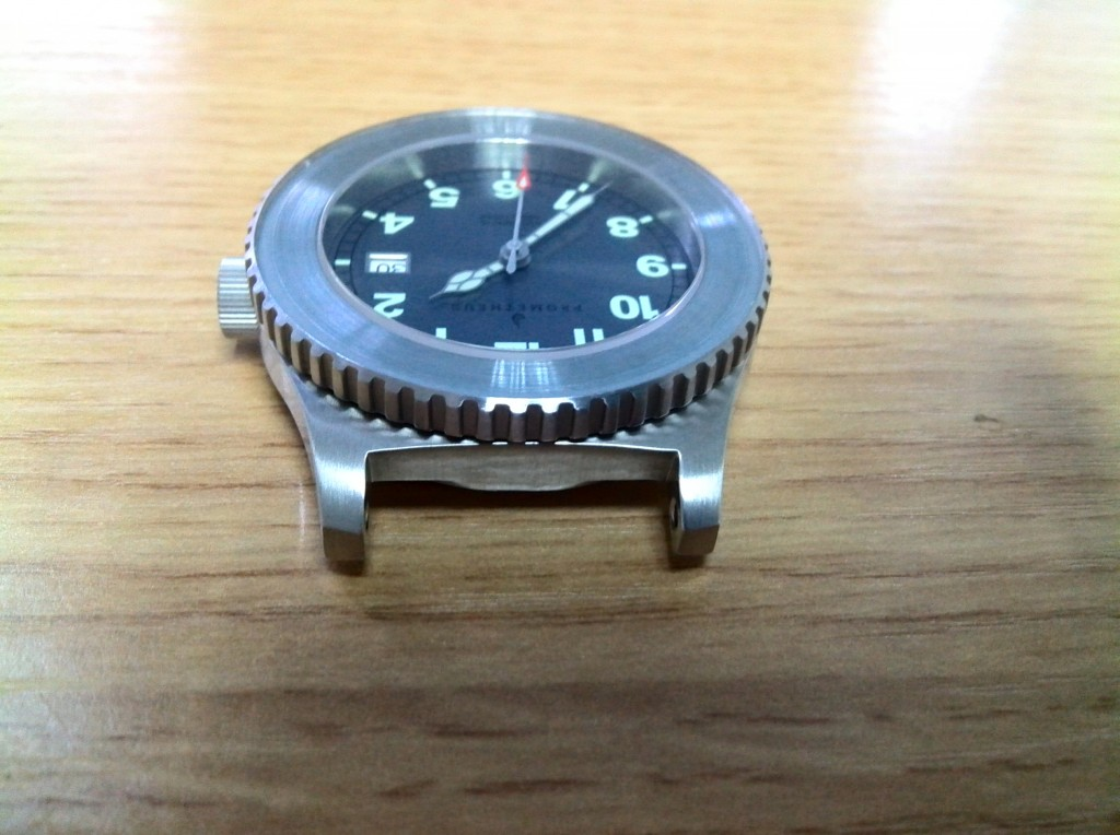 Prometheus Sailfish Diver Watch NH36 Movement Photos at Factory